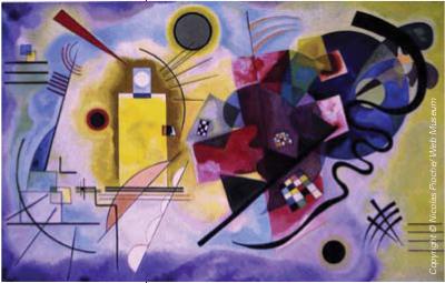Kandinsky, Wassily Jaune, rouge, bleu 1925