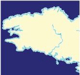 Le littoral dentelé de la Bretagne