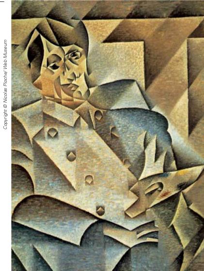 Gris , Juan Portrait de Picasso 1912