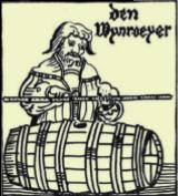 Jaugeur de vin (wijnroeier en néerlandais)