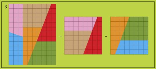 10 × 13 = 8 × 8 + 8 × 8?