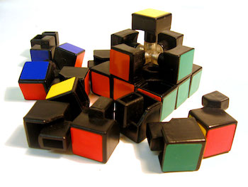 """Disassembled-rubix-1"" by User Curis on en.wikipedia. Licensed under CC BY 2.5 via Wikimedia Commons."