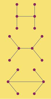 Arbres homéomorphes à 6 sommets