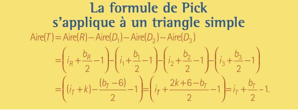 formule de Pick 2